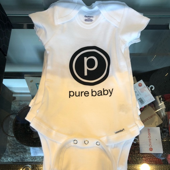 Pure Barre Baby Onesie NWT Boutique